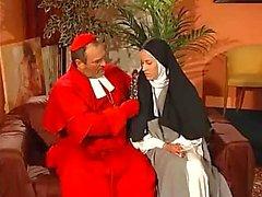 Sinful nun fucked hard