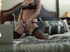 Sexy gf first ass fuck