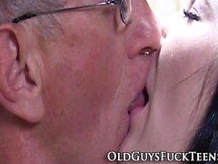Teen swallow with elder