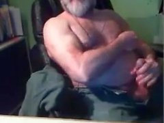 movimiento del abuelo en la webcam