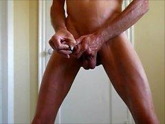 Sauvage Crâne rasé Bite et la Ass - Au mon pénis et le Fistée et le baisée dans mon cul