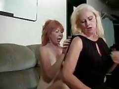 Lesbians are in for a little hot pussy play with each other