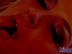 Sessione di masturbazione calda con incredibile Sarah Vandella