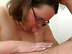 Big woman bitch fucked in all of her holes by dick
