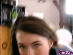 Amateur teenager blows