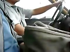 Taxi jerk off