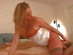 chin fucking master gives overs to her slave