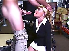 Hot MILF pawns her body for cash