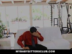 MyBabySittersClub - 18 yo Babysitter Loves To Fuck Her Boss