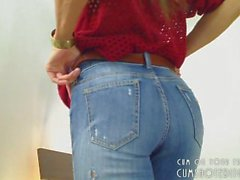 Great Camgirl Hot Ass In Jeans