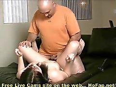 Fat Dude Fucks Big Tits Teen Hottie On Webcam