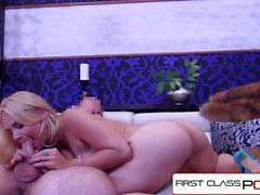 FirstClassPOV - Sarah Vandella is punished by a big dick, big booty