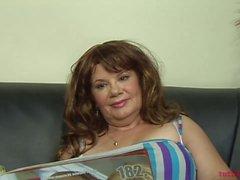 Hot hairy fatty mature porn casting