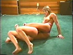 Retro Busty Catfight (Facesitting)