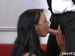 Amazing German MILF enjoys an incredible hardcore sex