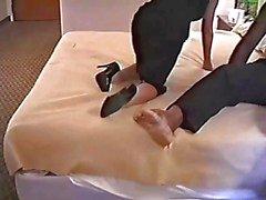 Hot Mature In Sexy Hoge Hakken Bangs BBC