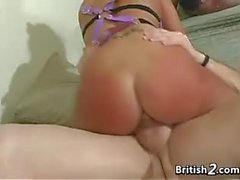 British Blonde Whore Ass Two Mouth