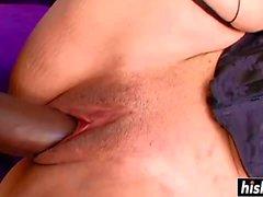 Uzun pecker bir sıcak bebek moan yapar