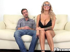 Bigtitted webcam babe Alyssa Lynn cumswallows