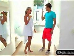 de brandi love eo namorado dela entrar em um ménage