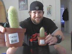 Man Deep kimpussa kaktuskasvit