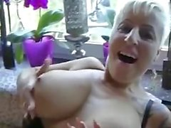 Horny guy is fucking his best friend's mom after she gave him a deep blowjo