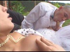 Hot Wedding With Sexy Shemale Alessandra Vendraminy