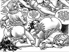 sexo desenho animado