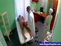 Real patient fingered by horny doctor
