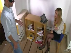 UNP009-Sarah Jain Boss New Intern Free video