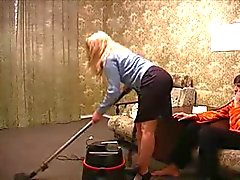 Evde anne iş
