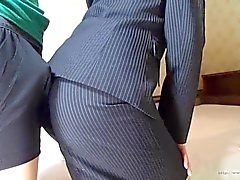 nonnude softcore asiatischen eine Frau assjob Office Clip