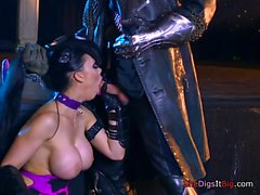 Hot Pornstar Aletta Ocean Takes A Monster Cock