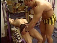 Muscle studs gym massage sensoriel