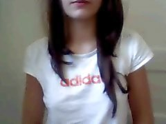 Banyoda Webcam Teen Girl parmaklar