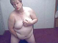 Fat Granny in a Cam R20