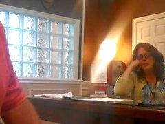 Del BJ nell'ufficio Real Hidden Camera sc.1