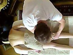 Nasty masseur loving his customers