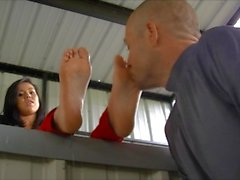 slobbery foot humiliation