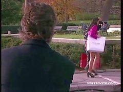 Katariina sekä Silvia Pyhän Hanki villinä Threesome