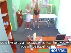 FakeHospital Claustrophobic sexy russian blonde seem to love gorgeous nurse