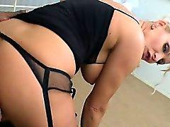 Glamour Busty MILF black Dick anal fuck