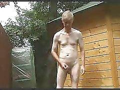 Freien Streifen , wichsen and cum