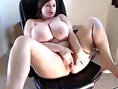 Webcam Girl tiene tetas increíbles