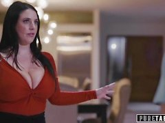 PURE TABOO Virtuelle Assistentin Angela White zwingt Paare in Fucking