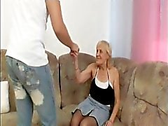 Granny Takes a Load In the Face