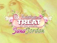Jana Jordaniens dildoing selbst