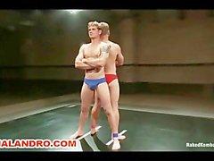 Arti marziali vs Rugby Wrestling di pubblico