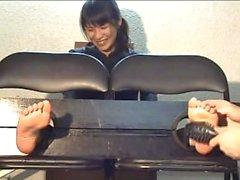 Japanese feet tickle12