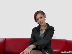 MAGMA FILM Fake Casting Hot Latina Redhead
